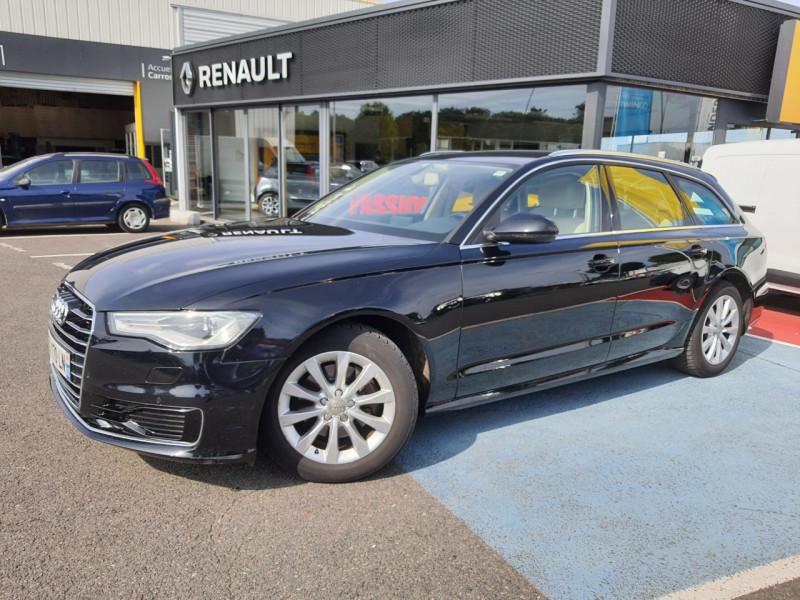 Audi A6 AVANT 2.0 TDI 190CH BUSINESS LINE QUATTRO S TRONIC 7 Diesel NOIR Occasion à vendre