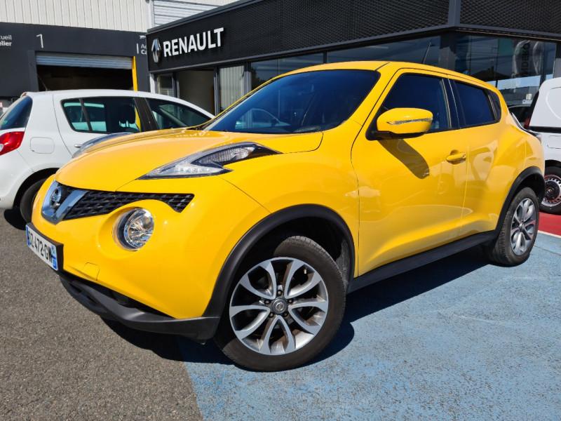 Nissan JUKE 1.6L 117CH N-CONNECTA XTRONIC Essence JAUNE Occasion à vendre