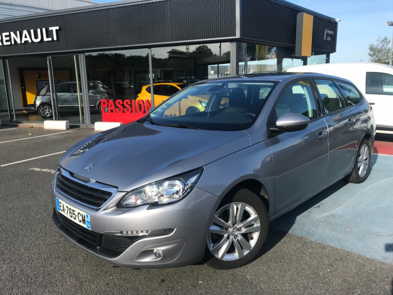 Peugeot 308 SW 1.6 BLUEHDI 100CH ACTIVE BUSINESS S&S Diesel GRIS C Occasion à vendre