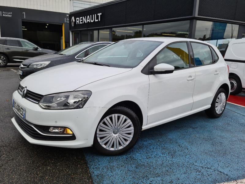 Volkswagen POLO 1.4 TDI 90CH BLUEMOTION TECHNOLOGY CONFORTLINE 5P Diesel BLANC Occasion à vendre