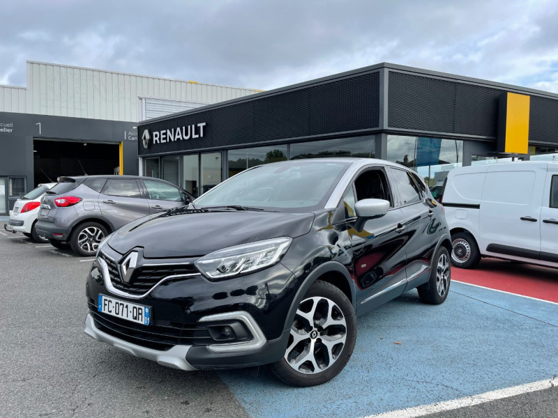 Renault CAPTUR 1.3 TCE 150CH FAP INTENS EDC Essence NOIR Occasion à vendre