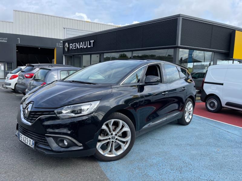 Renault GRAND SCENIC IV 1.3 TCE 140CH FAP BUSINESS 7 PLACES Essence NOIR Occasion à vendre