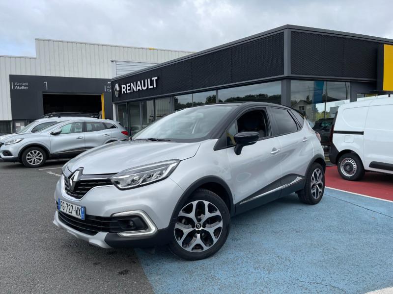 Renault CAPTUR 1.3 TCE 130CH FAP INTENS Essence GRIS/NOIR Occasion à vendre