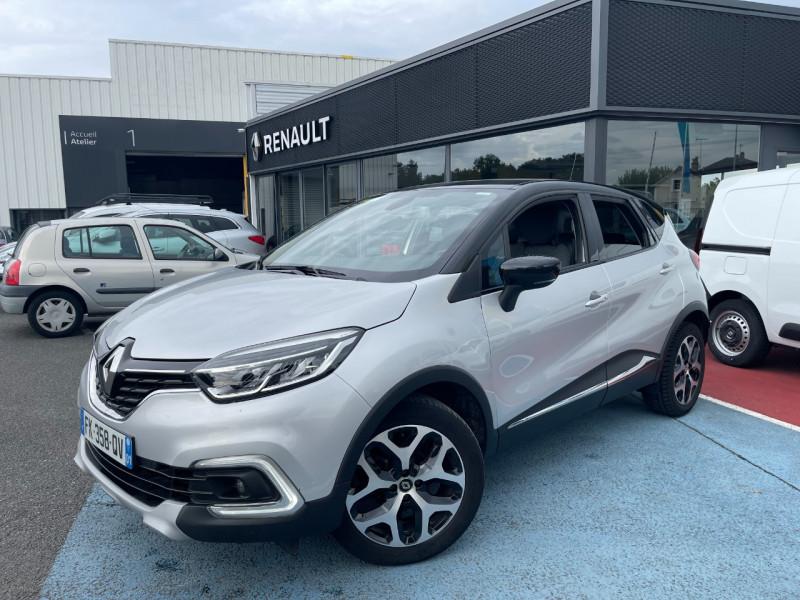 Renault CAPTUR 0.9 TCE 90CH ENERGY INTENS EURO6C Essence GRIS Occasion à vendre