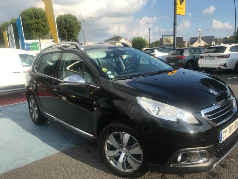 Peugeot 2008 1.6 E-HDI92 FAP ALLURE Diesel NOIR Occasion à vendre