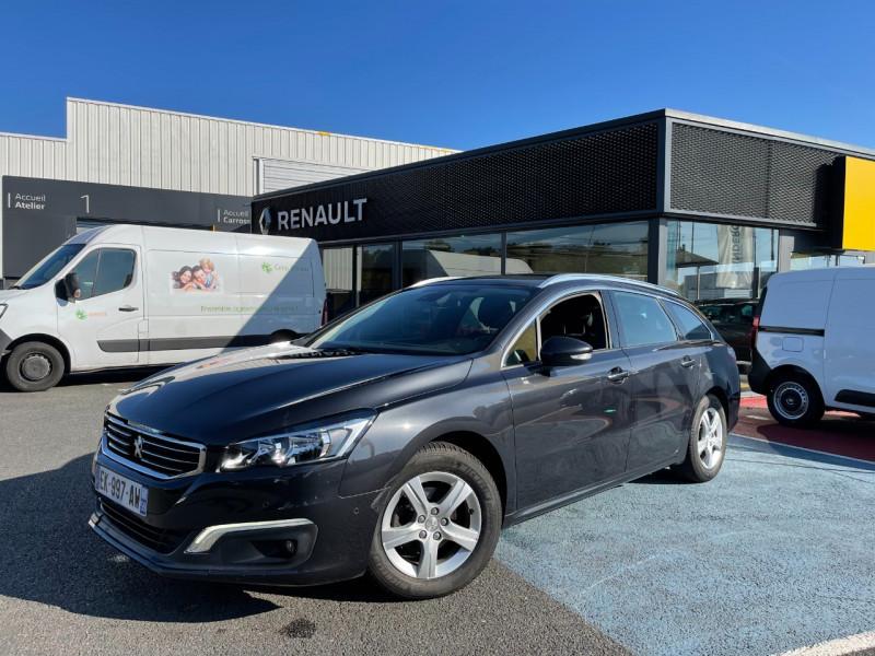 Peugeot 508 SW 1.6 BLUEHDI 120CH ACTIVE BUSINESS S&S EAT6 Diesel GRIS C Occasion à vendre