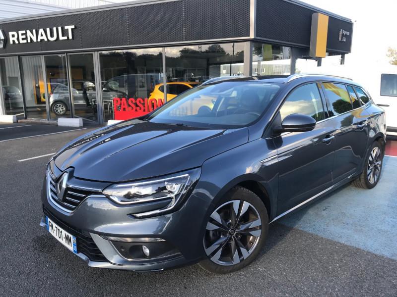 Renault MEGANE IV ESTATE 1.3 TCE 140CH FAP INTENS EDC Essence GRIS Occasion à vendre