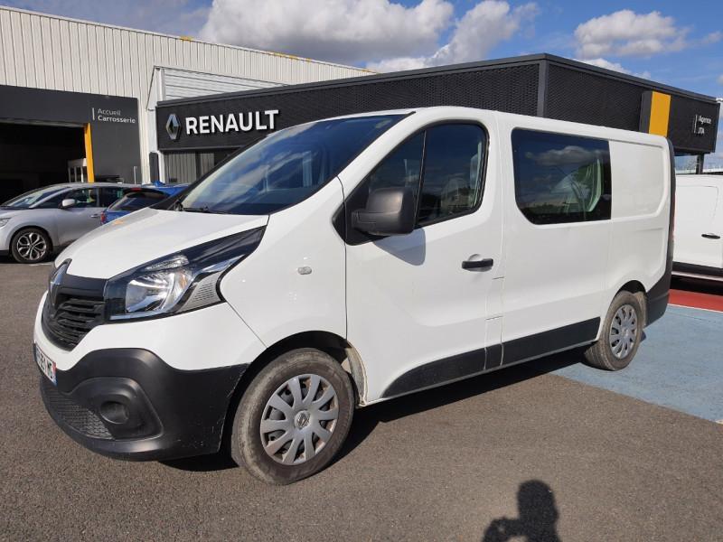 Renault TRAFIC III FG L1H1 1000 1.6 DCI 120CH CABINE APPROFONDIE GRAND CONFORT EURO6 Diesel BLANC Occasion à vendre