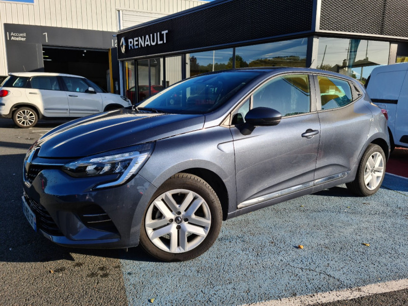 Renault CLIO V 1.5 BLUE DCI 85CH BUSINESS Diesel GRIS Occasion à vendre
