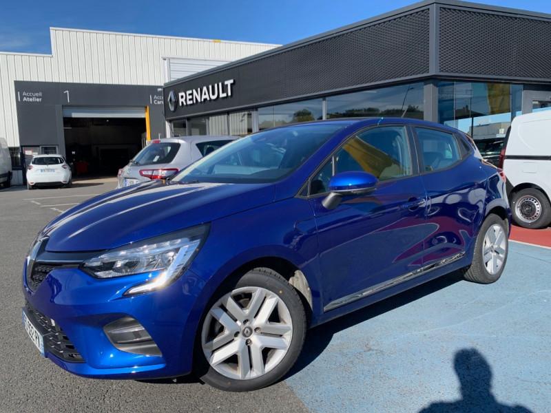 Renault CLIO V 1.5 BLUE DCI 85CH BUSINESS Diesel BLEU F Occasion à vendre