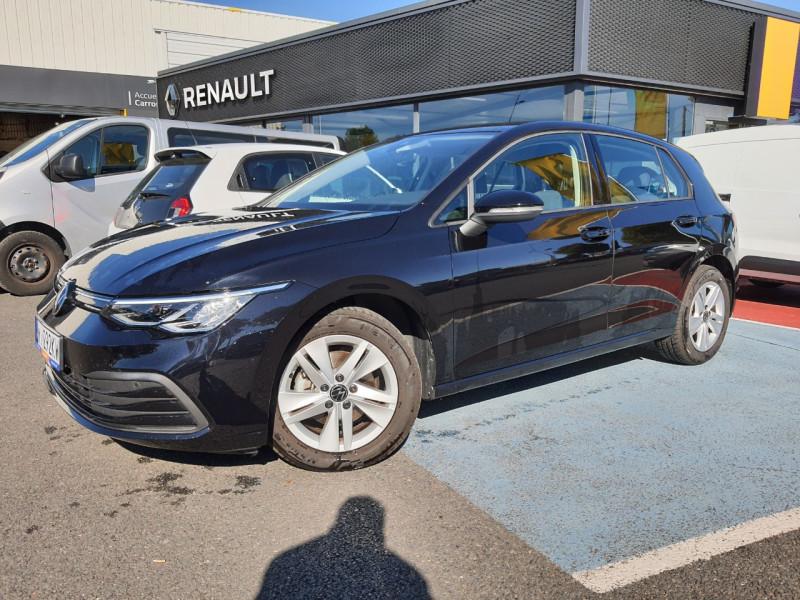 Volkswagen GOLF VIII 1.5 TSI ACT OPF 130CH LIFE Essence NOIR Occasion à vendre