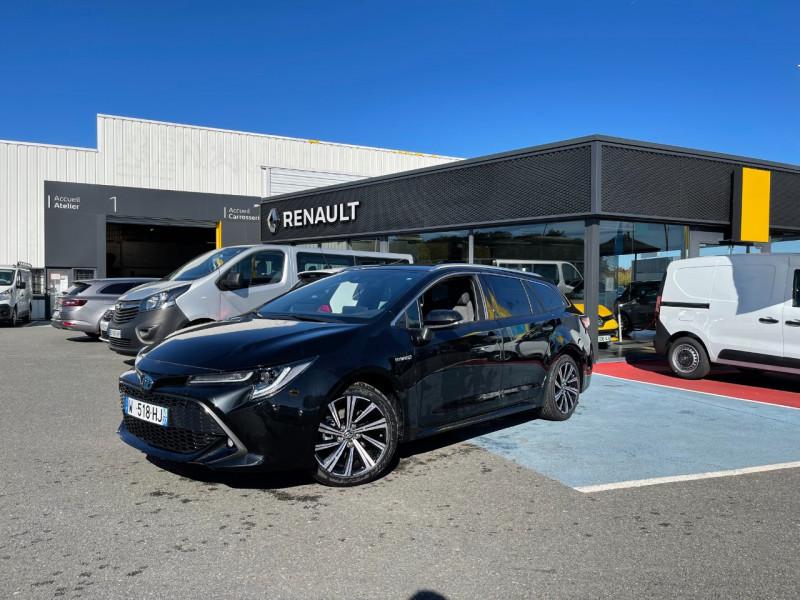 Toyota COROLLA TOURING SPT 184H DESIGN Hybride NOIR Occasion à vendre