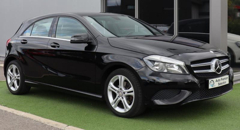 Mercedes-Benz CLASSE A 180 GPS,Clim Auto, BT, Garantie 6 mois Essence NOIR Occasion à vendre