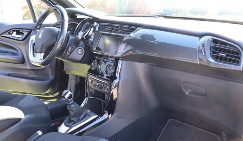 Photo 6 de l'offre de CITROEN DS3 1.6 THP 155 GPS, Clim Auto, BT, Garantie 6 mois à 8900€ chez Auto premium Selection