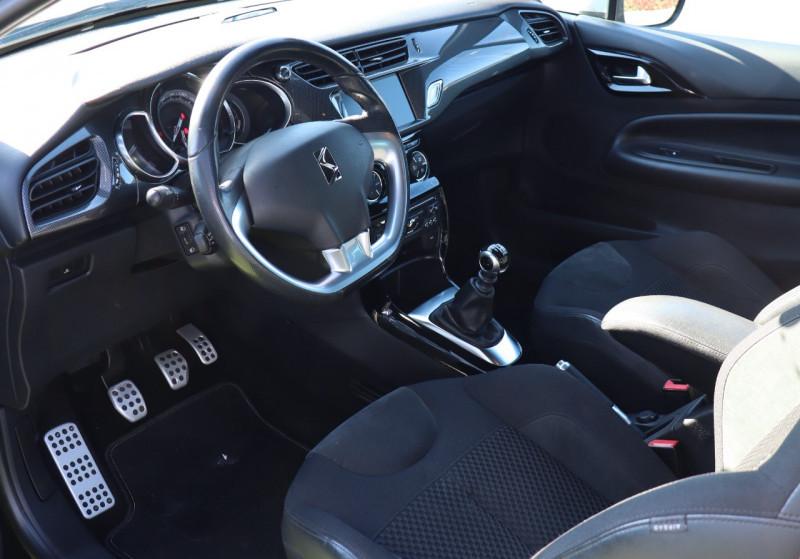 Photo 2 de l'offre de CITROEN DS3 1.6 THP 155 GPS, Clim Auto, BT, Garantie 6 mois à 8900€ chez Auto premium Selection