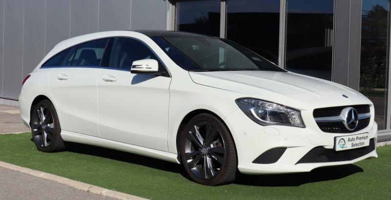 Mercedes-Benz CLA SHOOTING BRAKE 180 FASCINATION GPS, Clim , BT Garantie 12 mois MB Essence BLANC Occasion à vendre