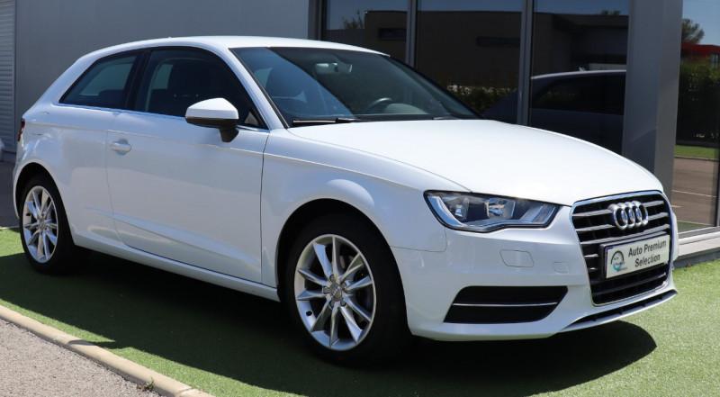 Audi A3 SPORTBACK 1.4 TFSI 125 Attraction GPS, Clim Auto, BT, Garantie AUDI 12 mois Essence BLANC Occasion à vendre