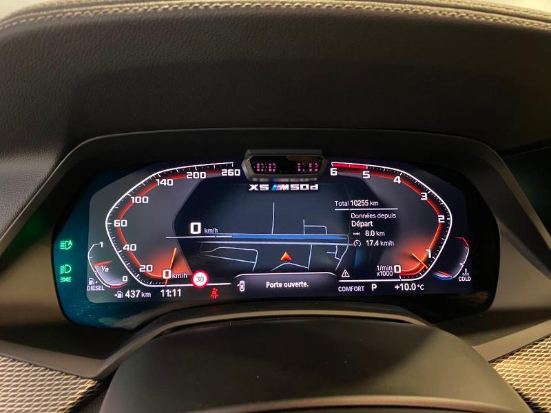 Photo 16 de l'offre de BMW X5 M50dA xDrive 400ch Perfomance à 93990€ chez Duval Automobiles