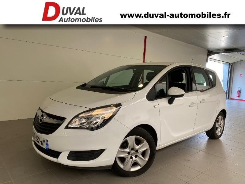 Opel Meriva 1.4 Turbo Twinport 120ch Cosmo Start/Stop Essence BLANC Occasion à vendre