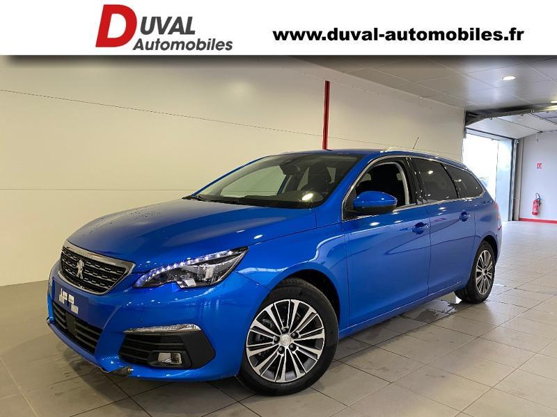 Photo 1 de l'offre de PEUGEOT 308 SW 1.5 BlueHDi 130ch S&S Allure Pack à 22790€ chez Duval Automobiles
