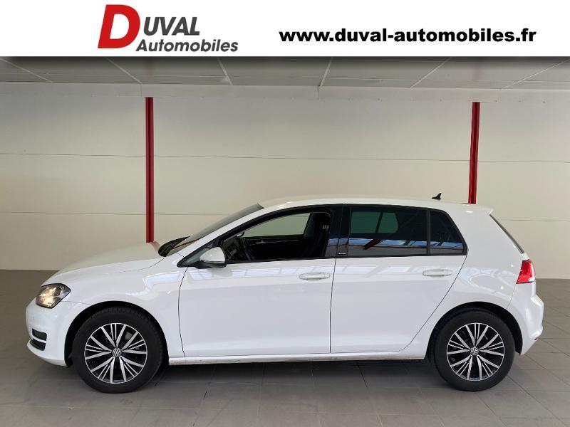 Photo 3 de l'offre de VOLKSWAGEN Golf 1.6 TDI 110ch BlueMotion Technology FAP Allstar 5p à 13490€ chez Duval Automobiles