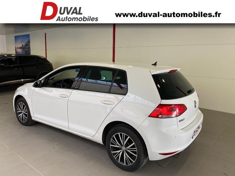Photo 4 de l'offre de VOLKSWAGEN Golf 1.6 TDI 110ch BlueMotion Technology FAP Allstar 5p à 13490€ chez Duval Automobiles