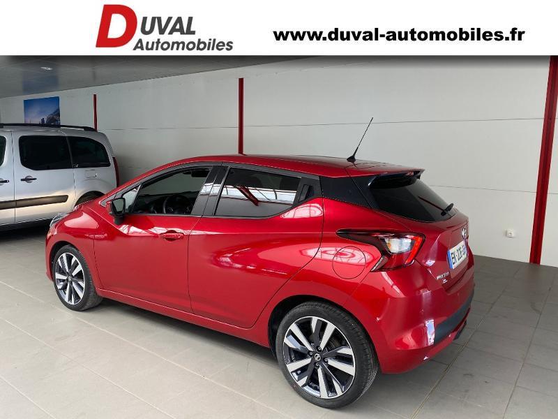 Photo 4 de l'offre de NISSAN Micra 1.5 dCi 90ch Tekna à 12990€ chez Duval Automobiles
