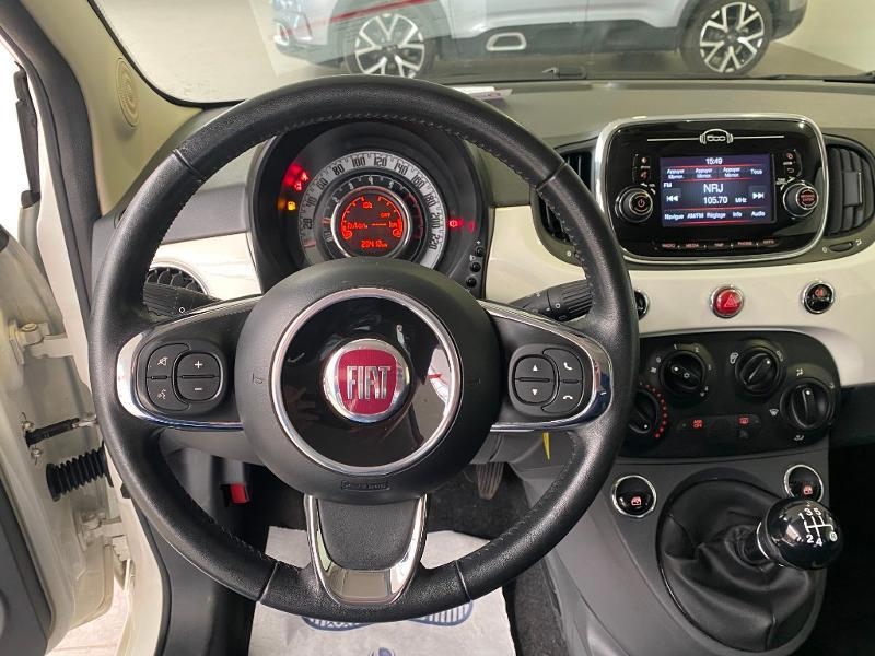 Photo 7 de l'offre de FIAT 500 1.2 8v 69ch Popstar à 9490€ chez Duval Automobiles