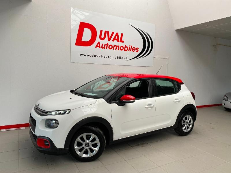 Photo 1 de l'offre de CITROEN C3 1.2 PureTech 83ch S&S Feel Pack à 14290€ chez Duval Automobiles