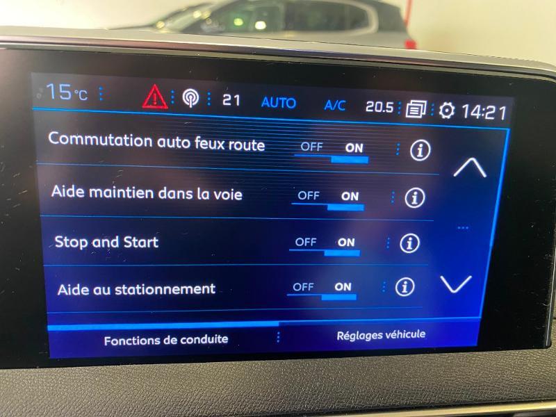 Photo 11 de l'offre de PEUGEOT 3008 1.5 BlueHDi 130ch E6.c GT Line S&S 6cv à 29990€ chez Duval Automobiles