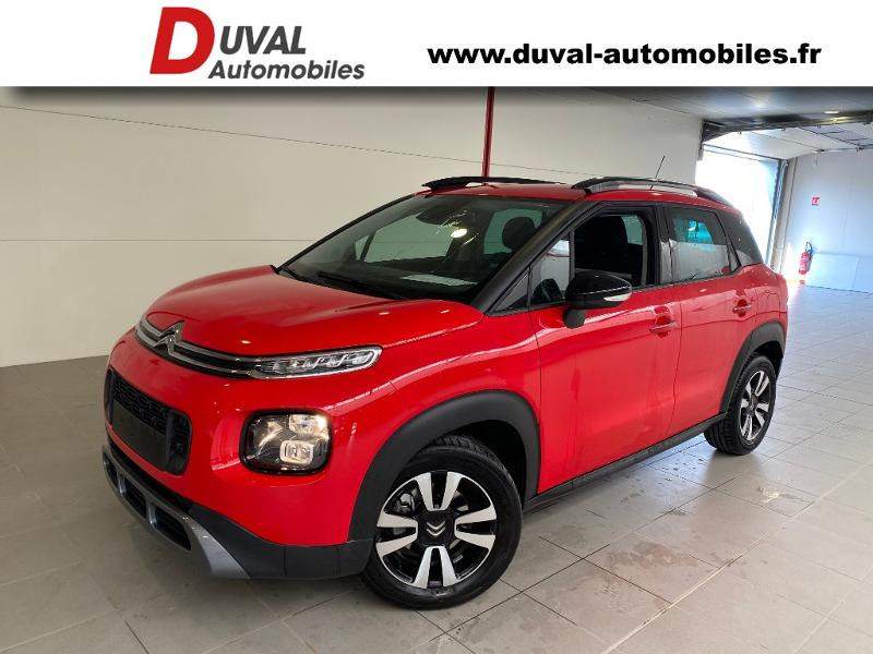 Citroen C3 Aircross BlueHDi 120ch S&S Shine EAT6 E6.d-TEMP Diesel ROUGE PASSION Occasion à vendre
