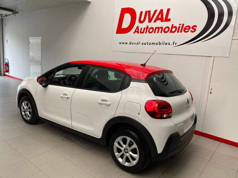 Photo 4 de l'offre de CITROEN C3 1.2 PureTech 83ch S&S Feel Pack à 14290€ chez Duval Automobiles