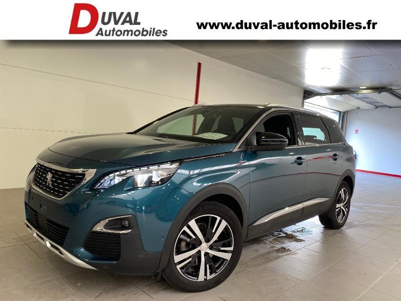 Peugeot 5008 1.5 BlueHDi 130ch E6.c GT Line S&S 7cv Diesel VERT EMERAUDE CRISTAL Occasion à vendre