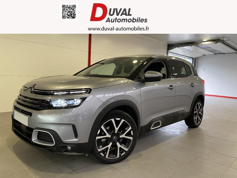 Citroen C5 Aircross BlueHDi 130ch S&S Feel EAT8 Diesel GRIS ACIER Occasion à vendre