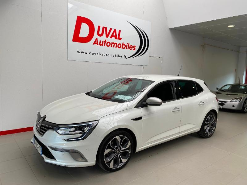 Renault Megane 1.6 dCi 130ch intens GT LINE Diesel BLANC Occasion à vendre