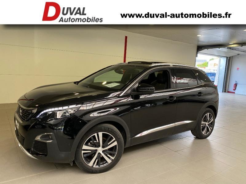 Peugeot 3008 1.5 BlueHDi 130ch S&S GT Line EAT8 + TOIT OUVRANT Diesel NOIR PERLE Occasion à vendre