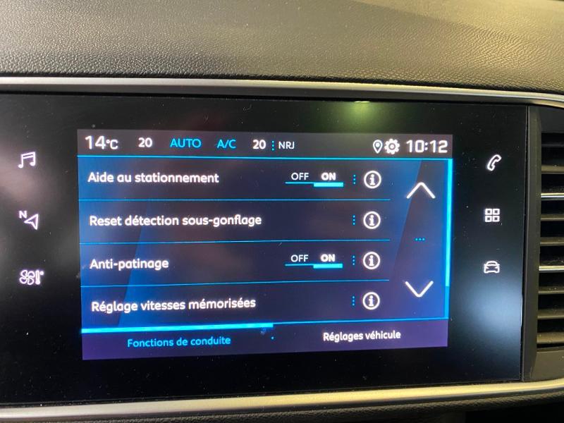 Photo 16 de l'offre de PEUGEOT 308 SW 1.5 BlueHDi 130ch S&S Style 7cv à 20890€ chez Duval Automobiles