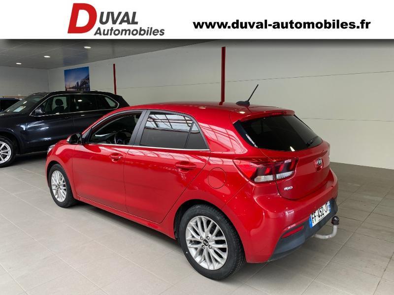 Photo 4 de l'offre de KIA Rio 1.2 MPi 84ch ISG Design Euro6d-T à 12990€ chez Duval Automobiles