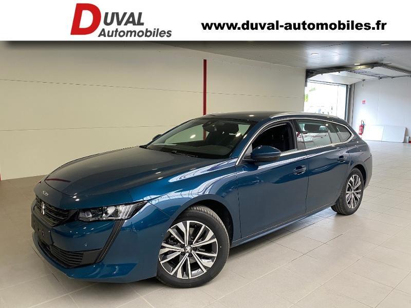 Peugeot 508 SW BlueHDi 130ch S&S Allure EAT8 7cv Diesel BLEU CELEBES METALLISE Occasion à vendre