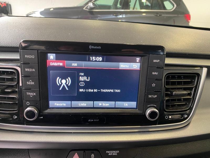 Photo 12 de l'offre de KIA Rio 1.2 MPi 84ch ISG Design Euro6d-T à 12990€ chez Duval Automobiles
