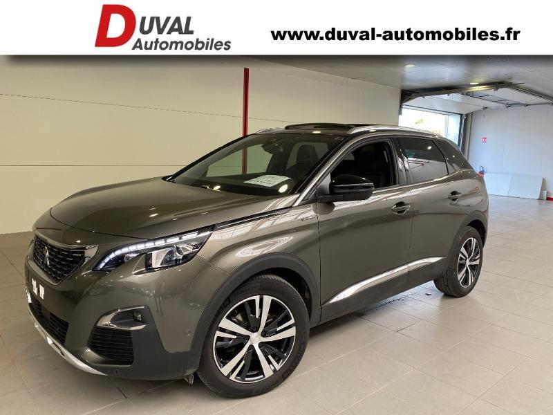Peugeot 3008 1.5 BlueHDi 130ch S&S GT Line EAT8 + TOIT PANO Diesel GRIS AMAZONITE/TOIT NOIR Occasion à vendre