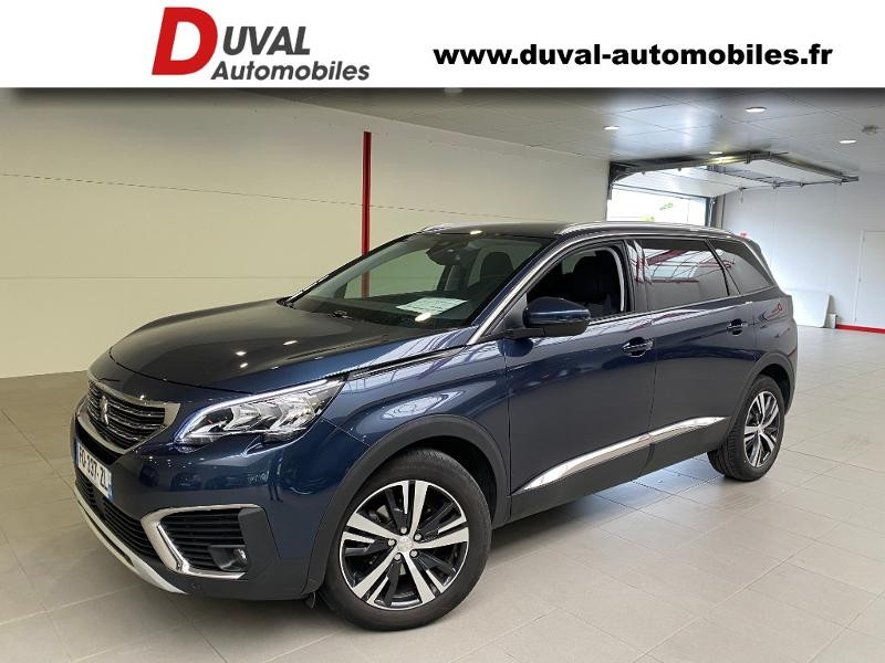 Peugeot 5008 1.5 BlueHDi 130ch E6.c Allure S&S EAT8 Diesel BLEU BOURRASQUE Occasion à vendre