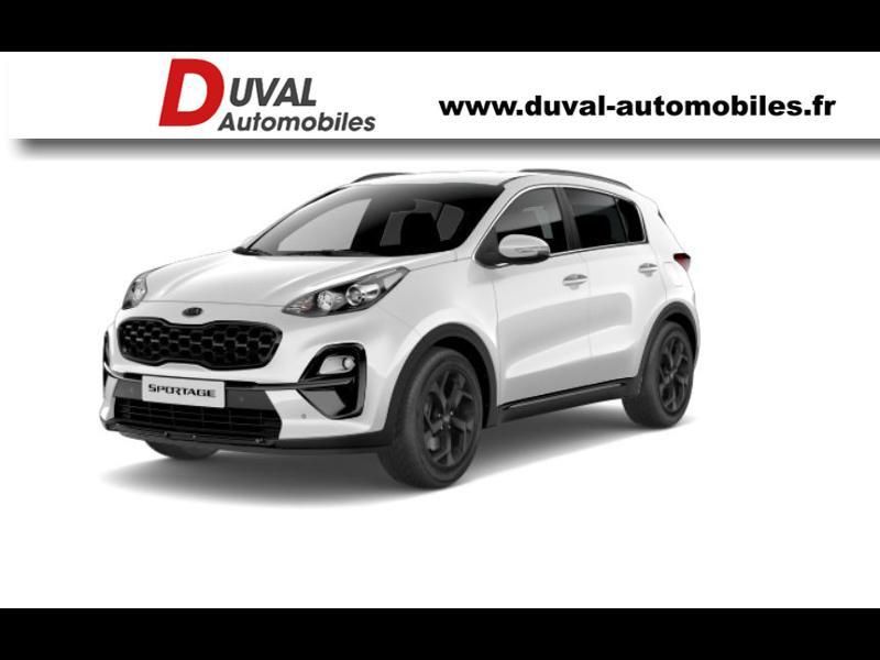 Photo 1 de l'offre de KIA Sportage 1.6 CRDi 136ch MHEV Black Edition 4x2 DCT7 à 28990€ chez Duval Automobiles