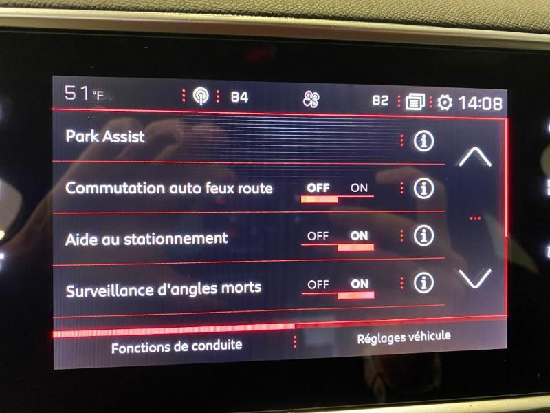 Photo 12 de l'offre de PEUGEOT 308 1.5 BLUEHDI 130 EAT 8 S&S GT PACK à 26890€ chez Duval Automobiles