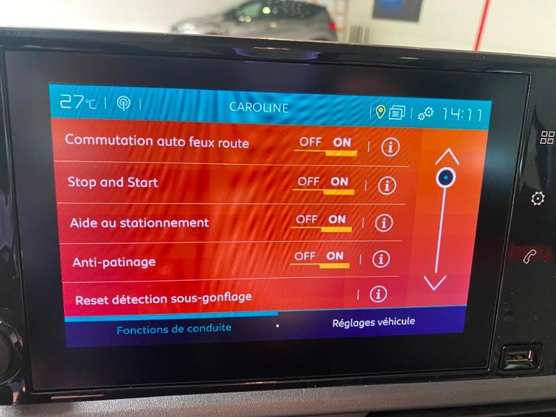 Photo 18 de l'offre de CITROEN Berlingo M BlueHDi 130ch S&S Shine à 25490€ chez Duval Automobiles
