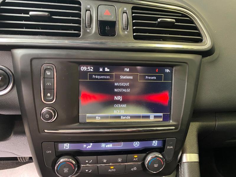 Photo 12 de l'offre de RENAULT Kadjar 1.5 dCi 110ch energy Intens eco² à 14990€ chez Duval Automobiles