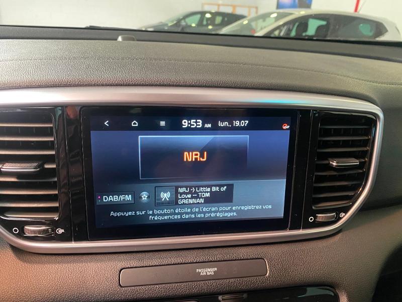 Photo 8 de l'offre de KIA Sportage 1.6 CRDi 136ch MHEV Black Edition 4x2 à 27490€ chez Duval Automobiles
