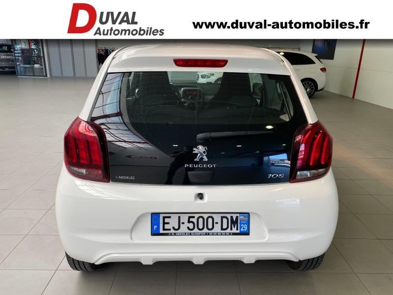 Photo 5 de l'offre de PEUGEOT 108 1.0 VTi Active 3p à 8990€ chez Duval Automobiles