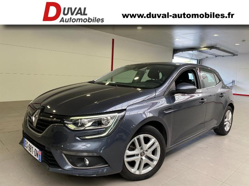 Renault Megane 1.5 dCi 110ch energy Business Diesel Gris Foncé Métal Occasion à vendre