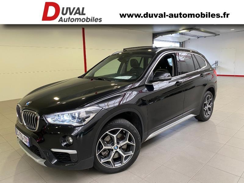 Bmw X1 xDrive20d 190ch xLine Diesel NOIR METAL Occasion à vendre